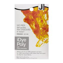 Jacquard iDye Synthetic Fiber Fabric Dye Orange