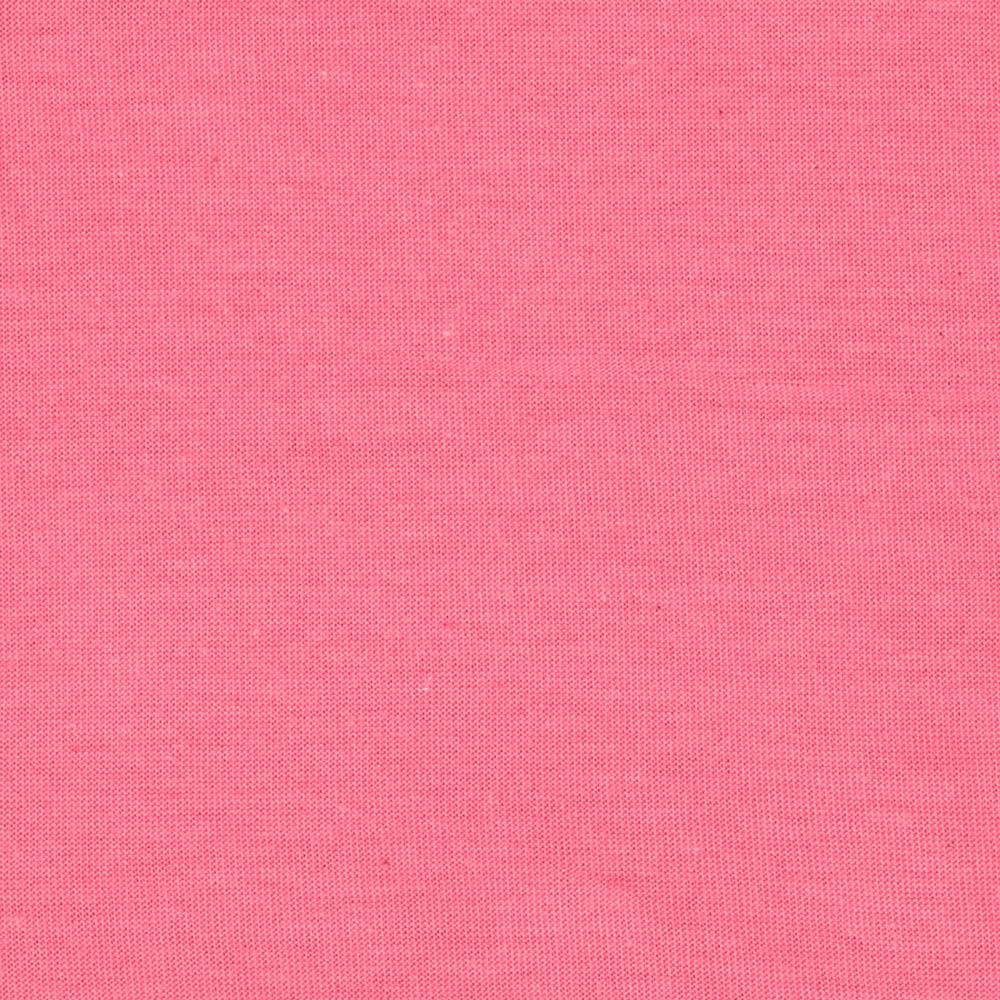 Cotton Poly Jersey Knit Solid Rose Pink