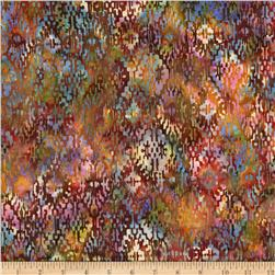 Bali Batik Handpaints Blanket Autumn
