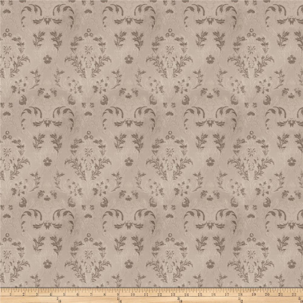 Trend 03292 Chenille Damask Nickel
