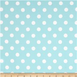 Moda Dottie Medium Dots Robins Egg