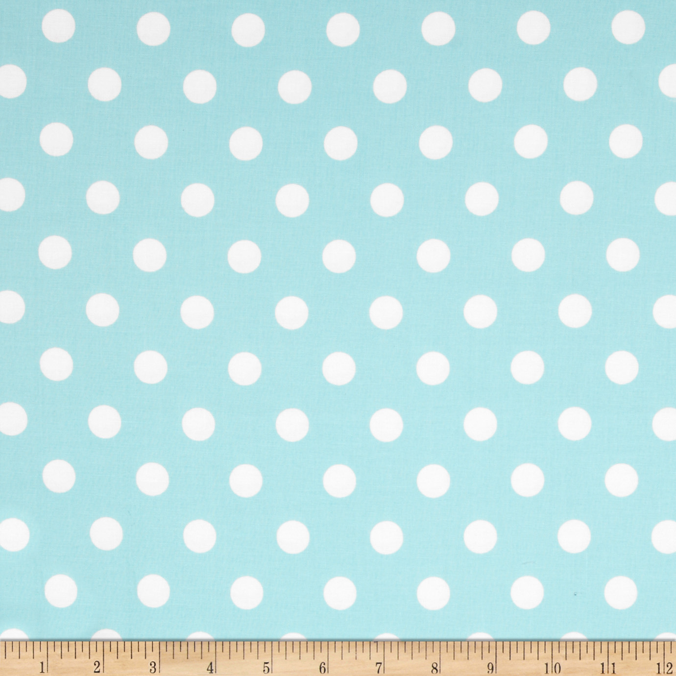 Moda Dottie Medium Dots Robins Egg Fabric