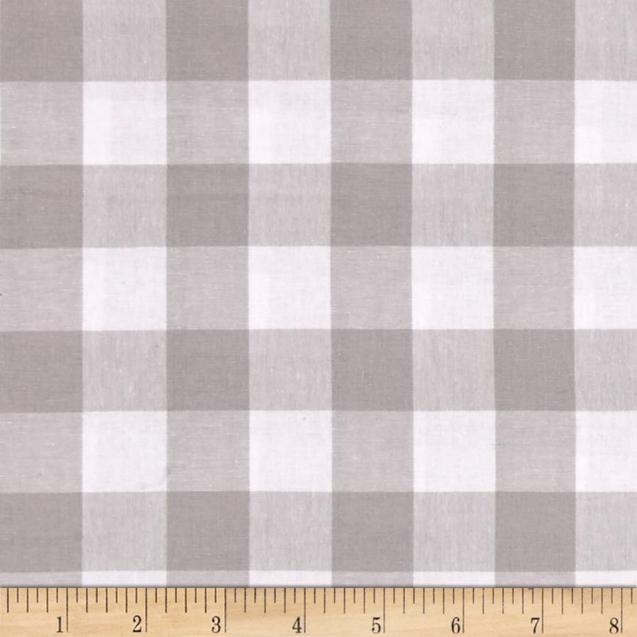 Cotton + Steel Checkers Yarn Dyed Woven 1'' Linen Fabric