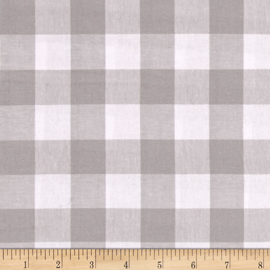 Cotton + Steel Checkers Yarn Dyed Woven 1'' Linen Fabric by Cotton & Steel in USA