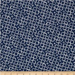Contempo Butterfly Effect Circles Navy