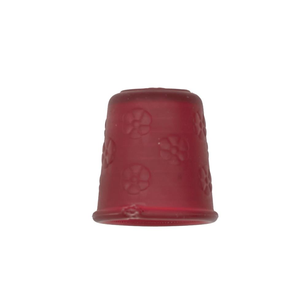 "Dill Rubberized Thimble 7/8"" Wine"