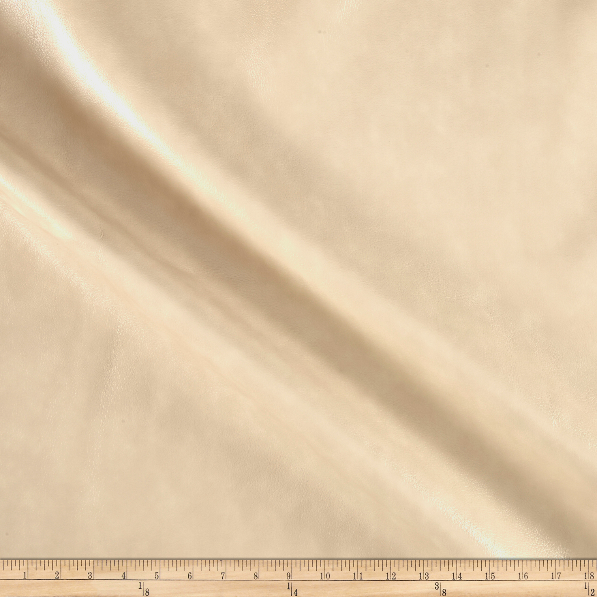 Richloom Tough Faux Leather Jaleco Cream Fabric by TNT in USA