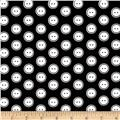 Kanvas Sew Easy Button Dot Black/White
