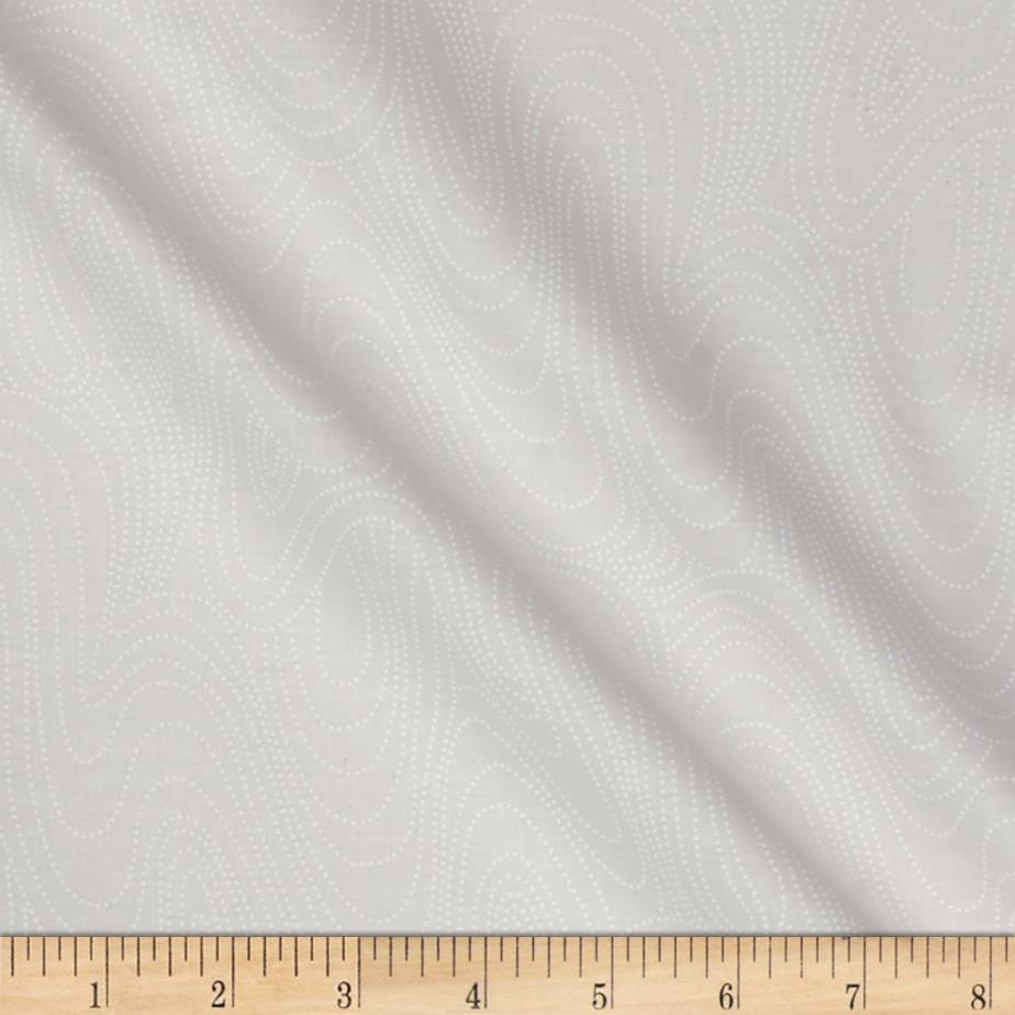Marcus High Contrast Wavy White