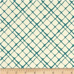 Michael Miller The Highlands Don't Fence Me In Teal
