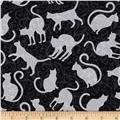 Spellbound Cat Silhouettes Black