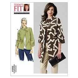 Vogue Misses' Jacket Pattern V1262 Size OSZ