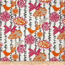 Premier Prints Menagerie Twill Sherbet Fabric