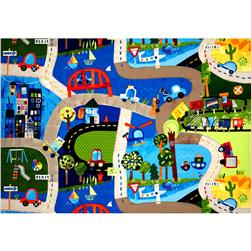 On Track Play Mat Multi