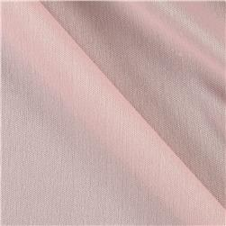 Nylon Activewear Knit Solid Baby Pink