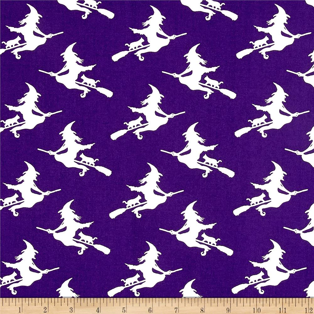 Ready Set Glow In The Dark Witches Purple