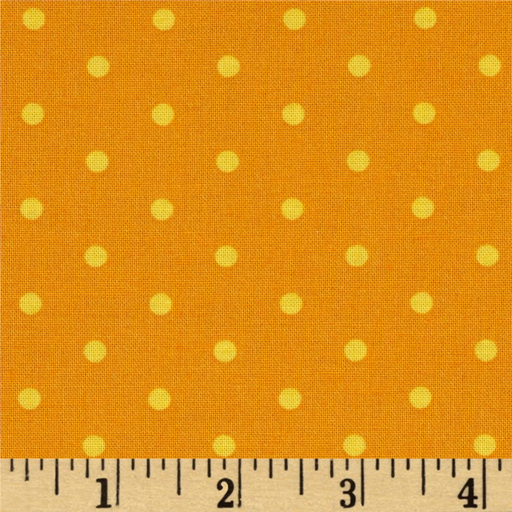 Not So Spooky Dots Orange