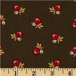 Country Manor Floral Brown