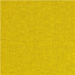 Stretch Tissue Hatchi Knit Solid Yellow Fabric