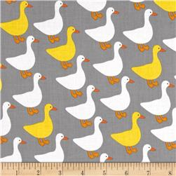 Kaufman Urban Zoology Ducks Grey