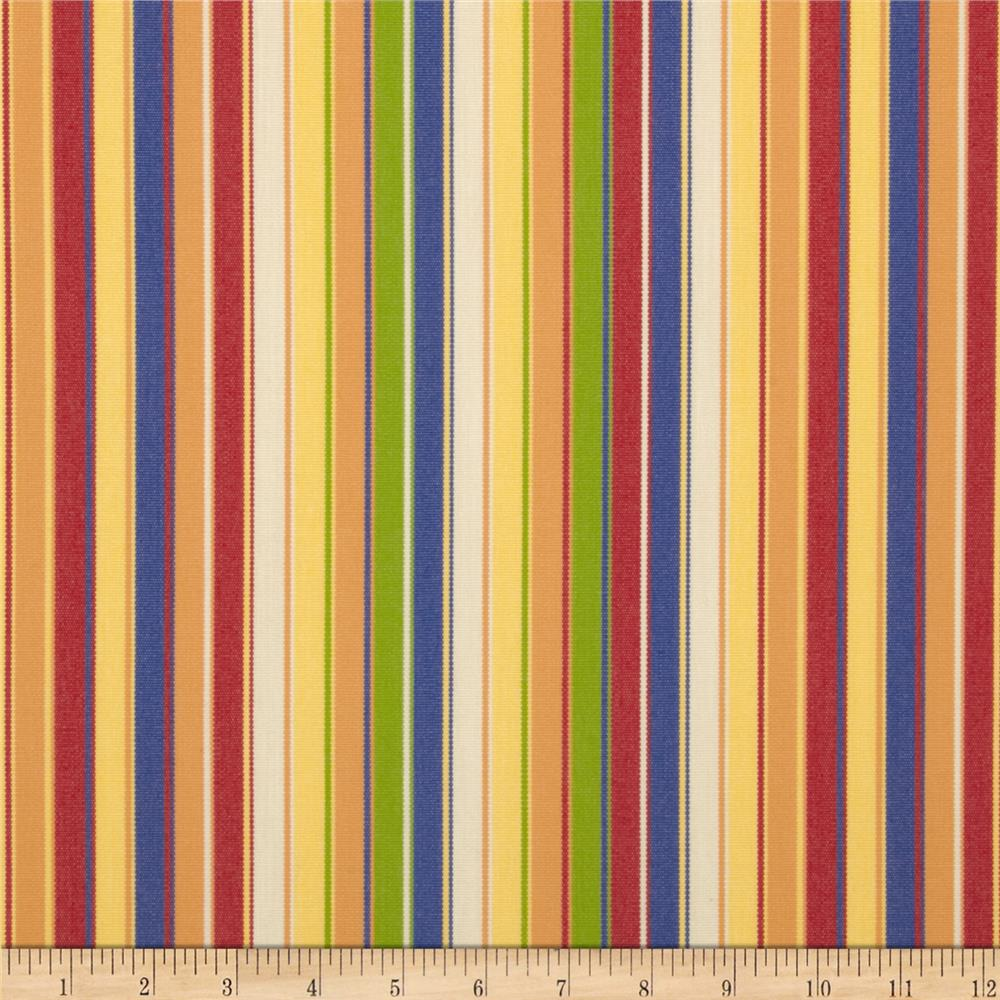 Sunbrella Outdoor Castanet Stripe Beach