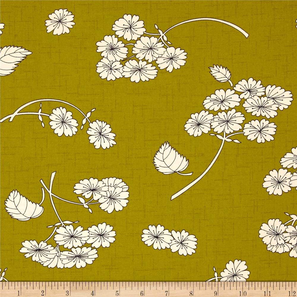 Moda Haiku Falling Bloom Clover