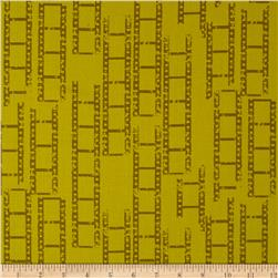 Moda Reel Time Film Strips Chartreuse