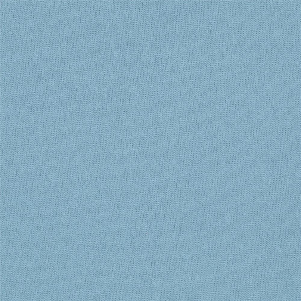 Designer Polyester Single Knit Light Blue