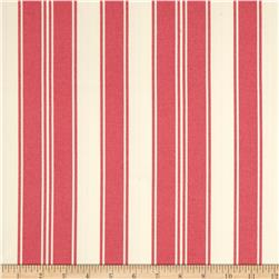 Tanya Whelan Petal Home Decor Sateen French Stripe Rose