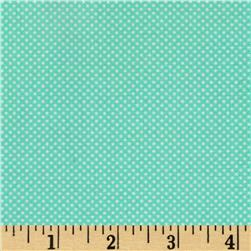Moda Dottie Tiny Dots Aqua Fabric