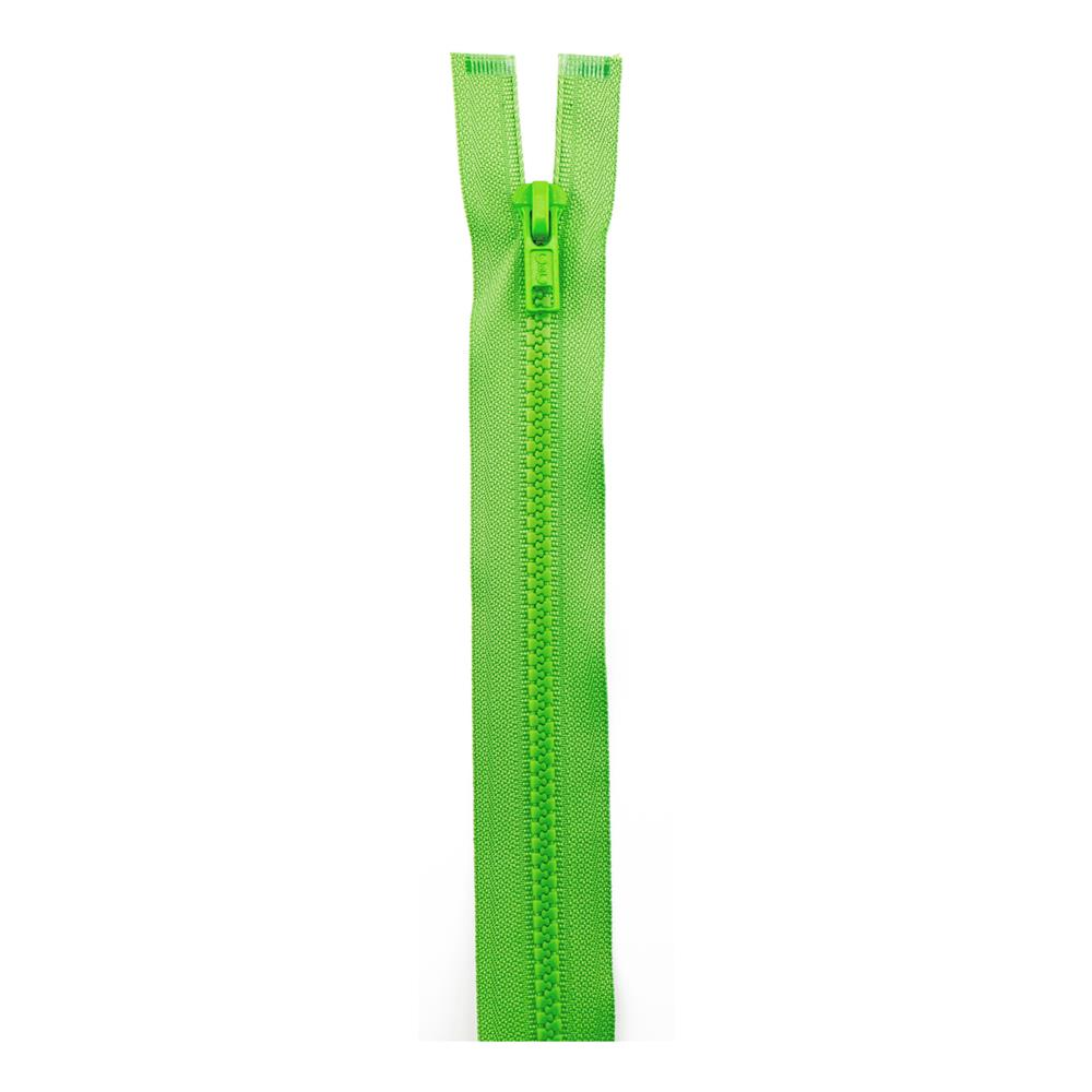 "Sport Separating Zipper 26"" Lime"