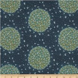 Cloud 9 Organic Biology Floral Orb Navy