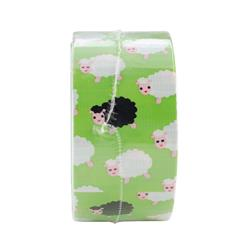 "Patterned Duck Tape 1.88"" x 10yd-Bah Bah Sheep"
