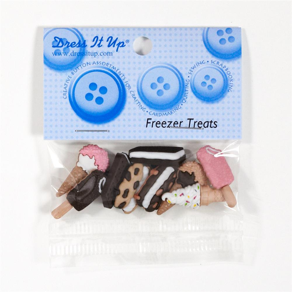 Dress It Up Embellishment Buttons Freezer Treats