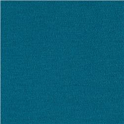 Cotton Spandex Jersey Knit Teal