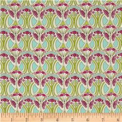 Liberty Of London Tana Lawn Mauverina Pink/Light Green/Light