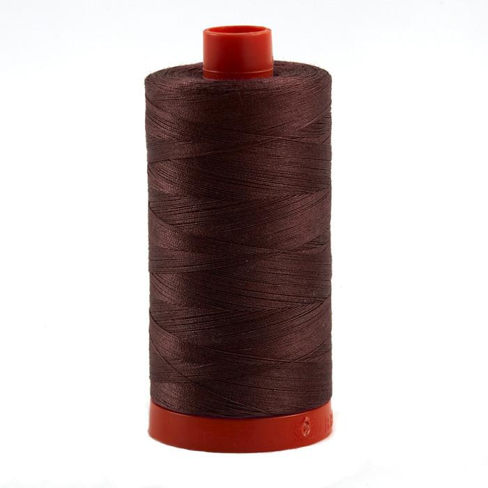 Aurifil Quilting Thread 50wt Raisin