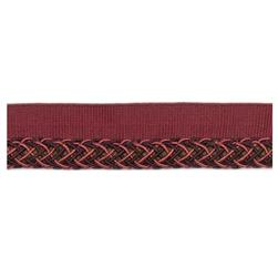 "Fabricut 1"" Oolong Cord Trim Grape"