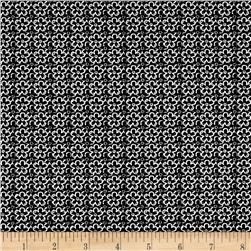 En Vogue Linear Flower Black/White