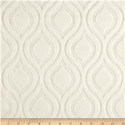 Premier Prints Embossed Marquise Cuddle Ivory Fabric