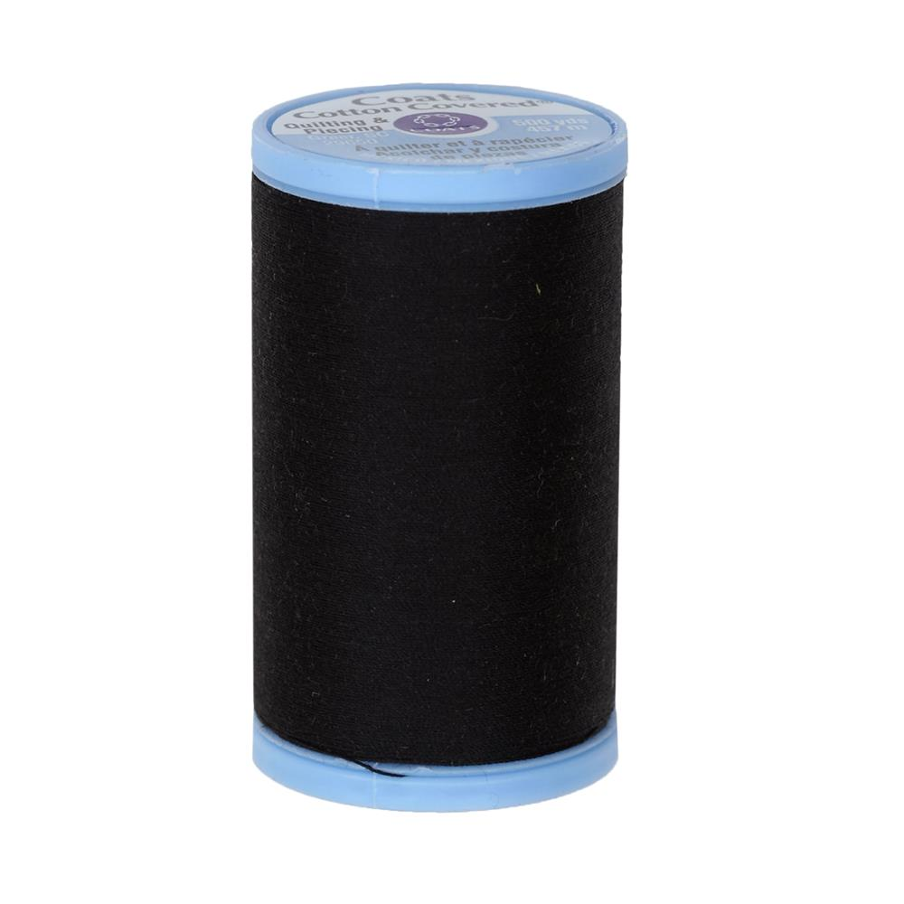 Coats & Clark Cotton Covered Quilting & Piecing Thread 500 YD Black