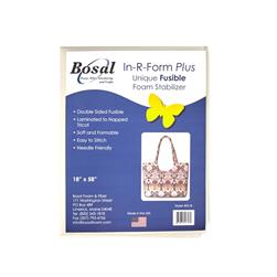Bosal In-R-Form Double Sided Fusible 1/2 yard Foam Stabilizer