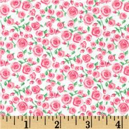 Small Rosette Bright Pink