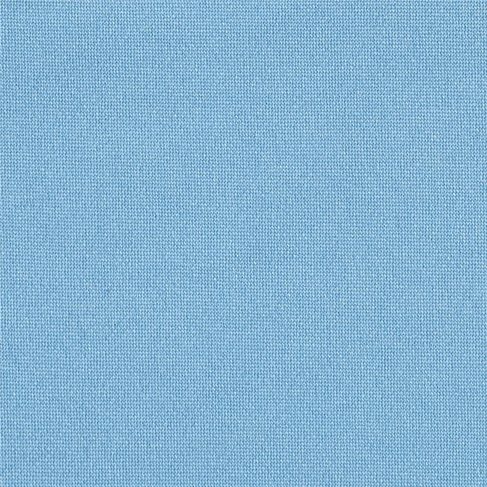 Pon Te Am Scuba Knit Light Blue Discount Designer Fabric