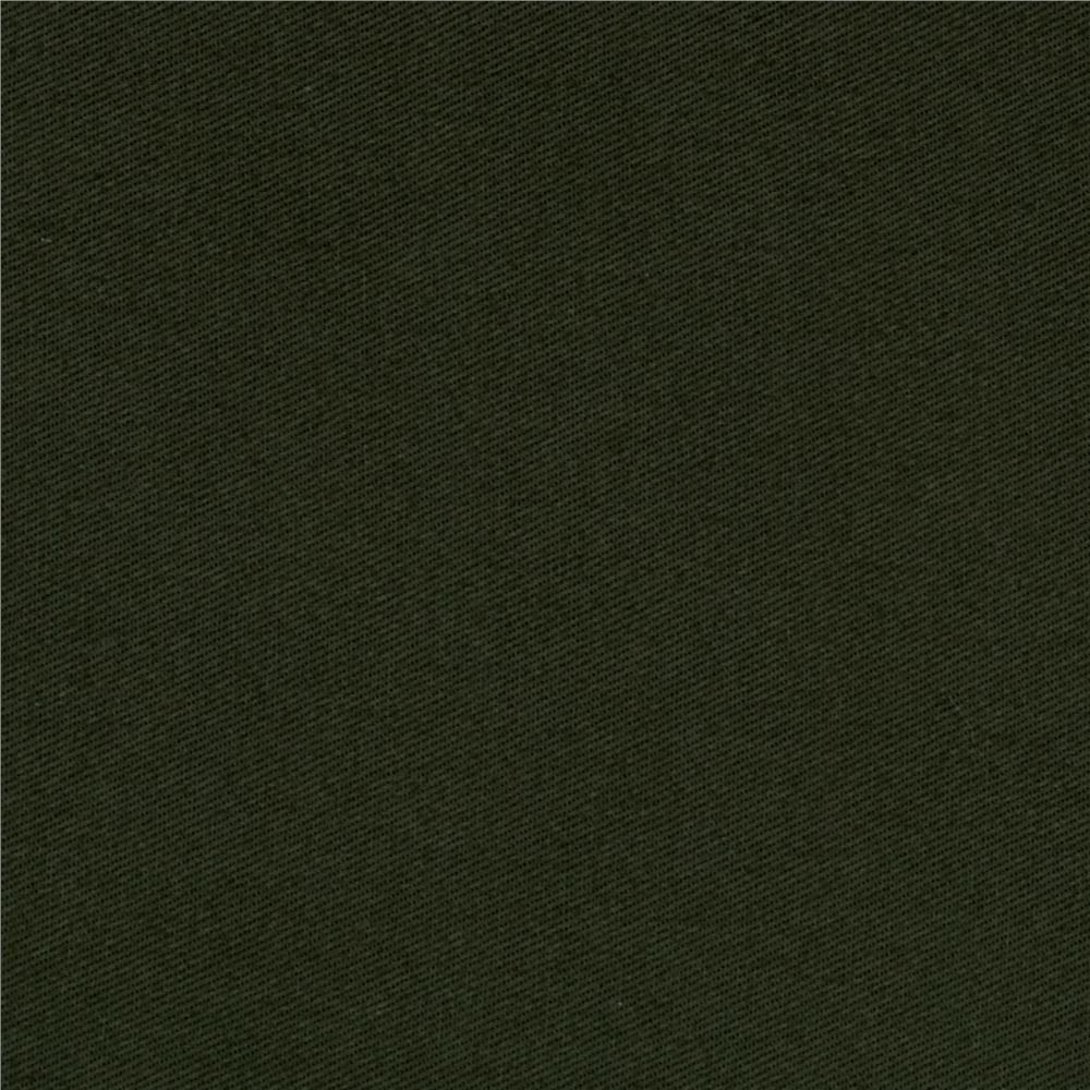 Green Cotton Twill