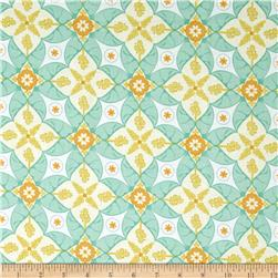 Riley Blake Calliope Scroll Aqua