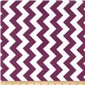 Riley Blake Laminate Medium Chevron Purple