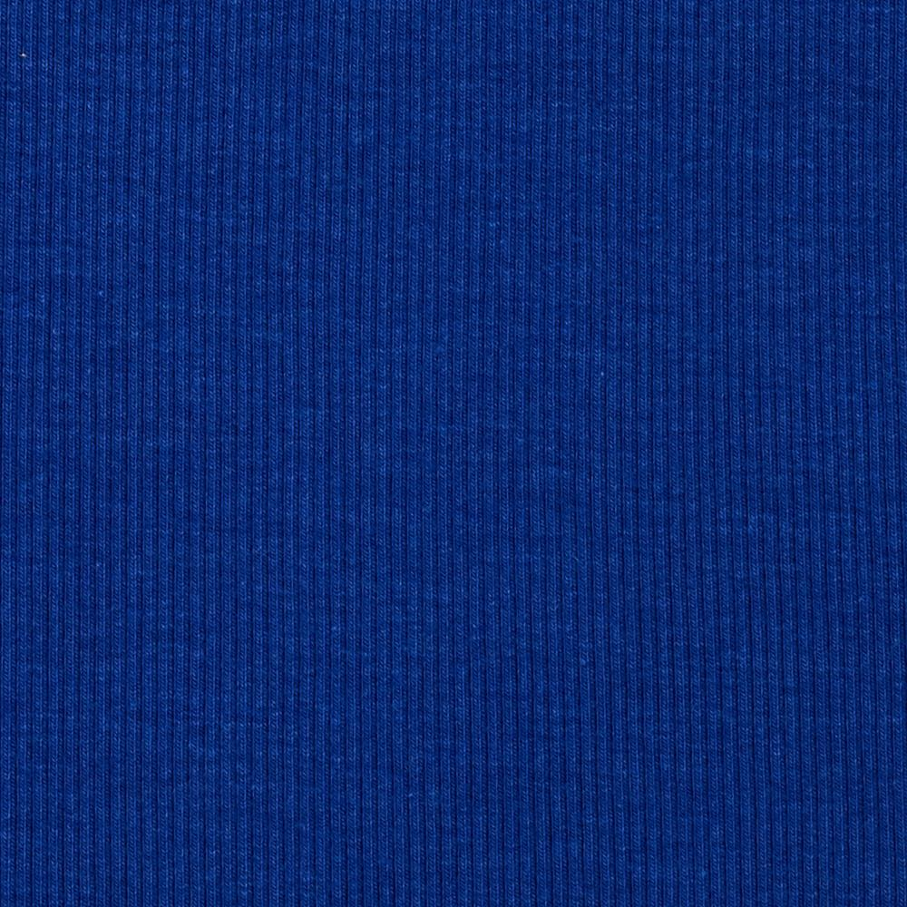Telio Stretch Bamboo Rayon Rib Knit Solid Royal Blue