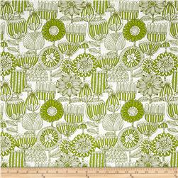 Moda Just Another Walk In The Woods Funny Flower Green/Cream