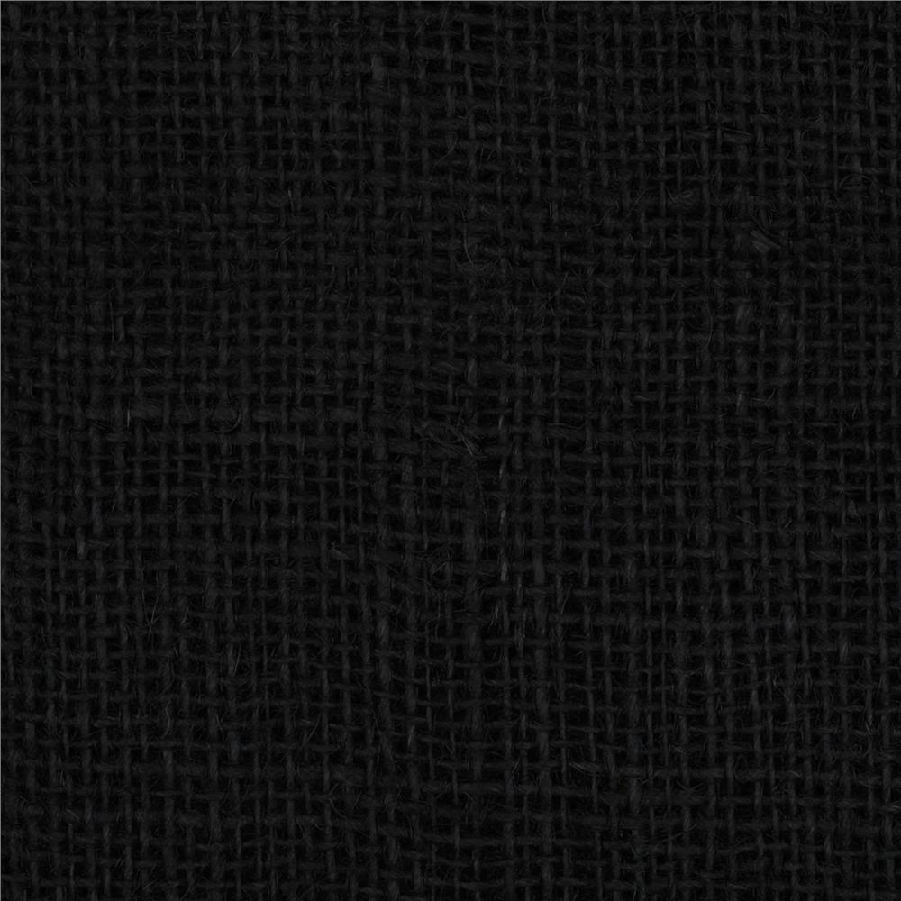 47 shalimar burlap black discount designer fabric for Black fabric